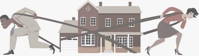 Trennung Haus