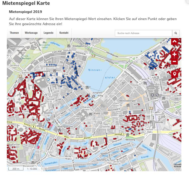 Mietpreise Hamburg